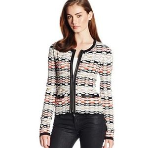 Nanette Lepore Fierce Knit Blazer Jacket